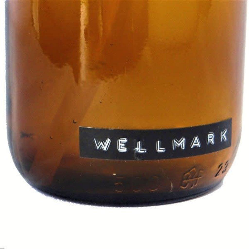 Wellmark Roomspray bruin glas – Cedarwood 250ml  'Good vibes'