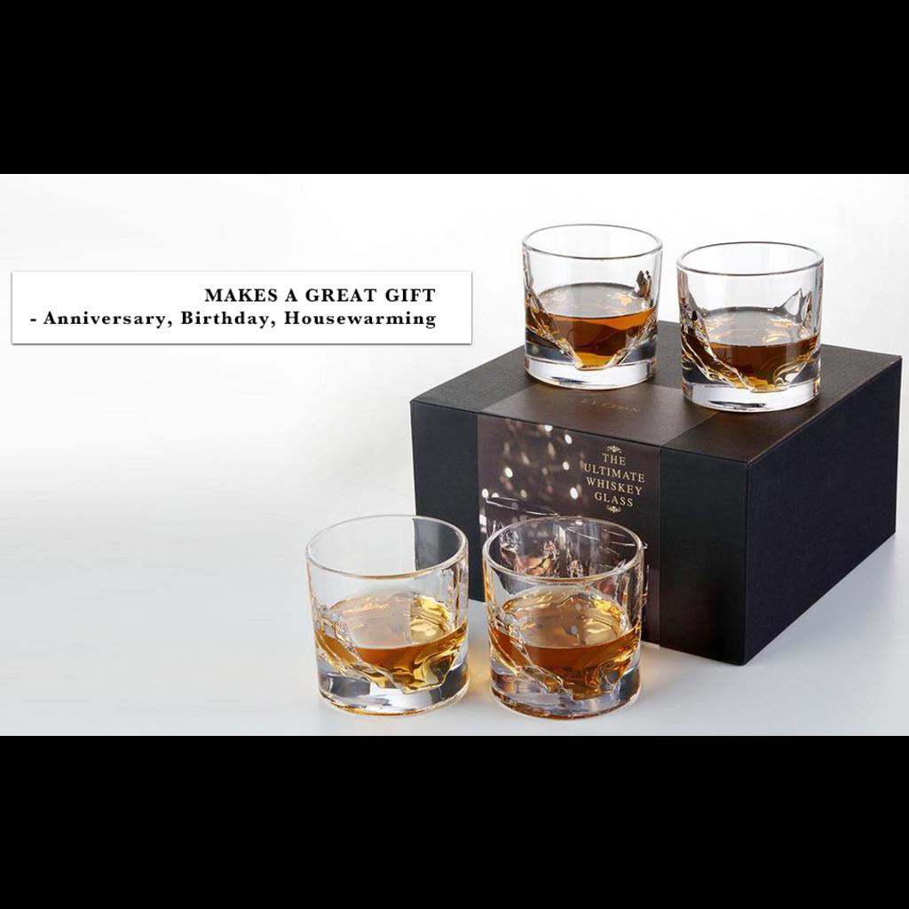 Liiton Liiton whiskey glazen
