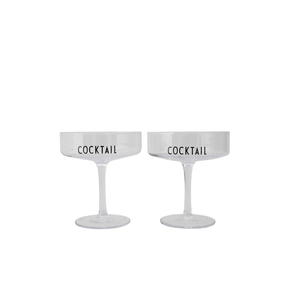 Design Letters Design Letters Cocktailglazen