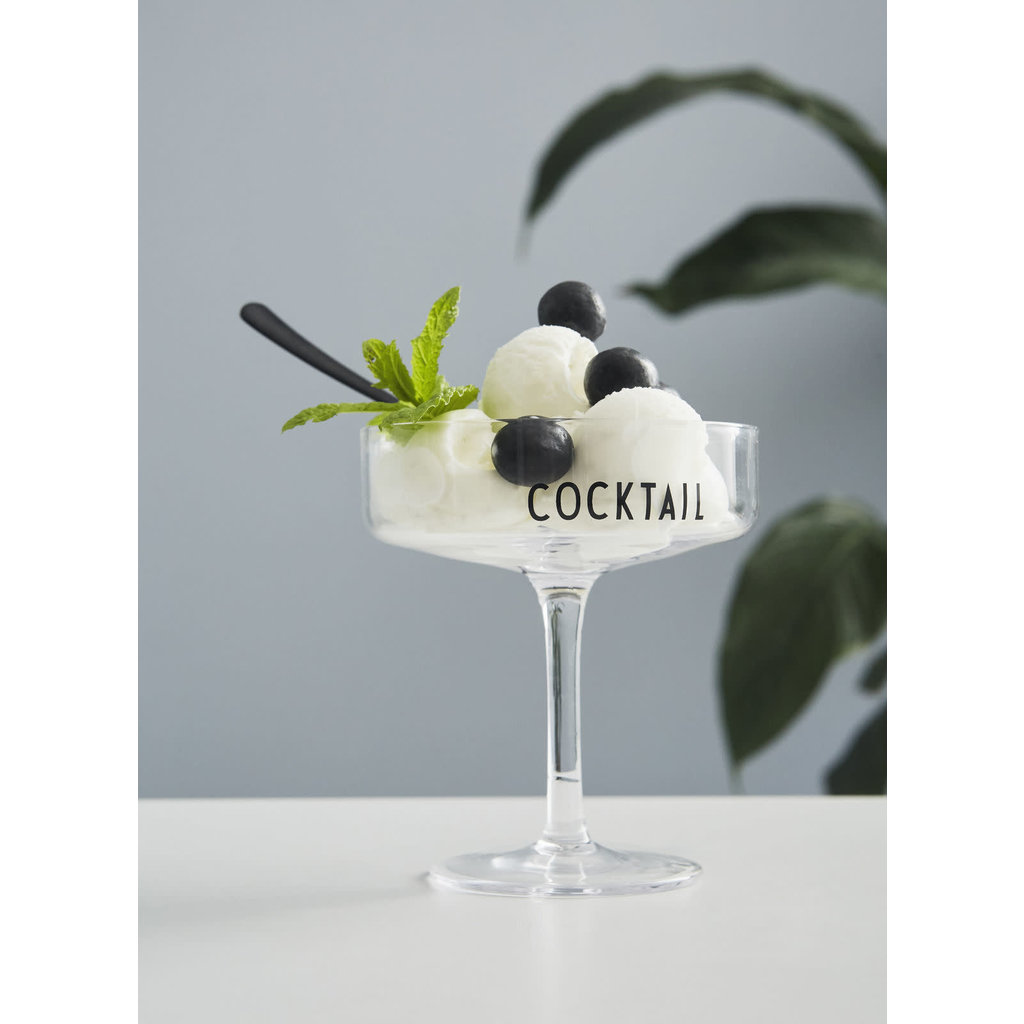 Design Letters Cocktailglazen