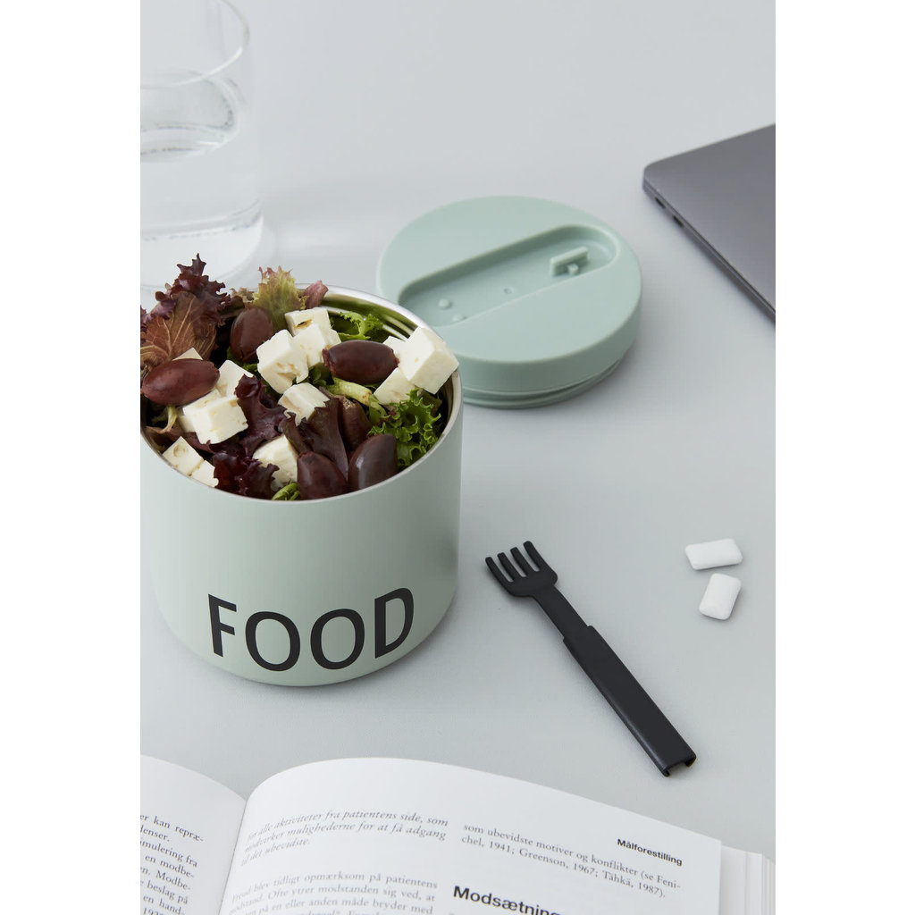 Design Letters Design Letters Thermo Lunch Box, Groot Groen