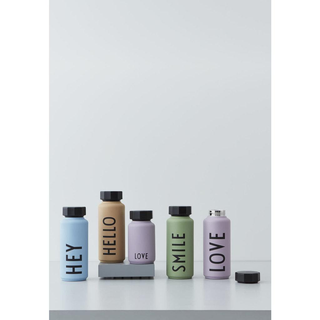 Design Letters Design Letters Thermo/Geïsoleerde fles, Hello