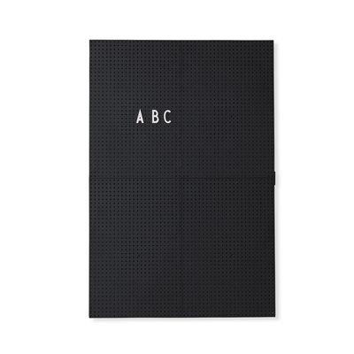 Design Letters Letter Board A3 Zwart