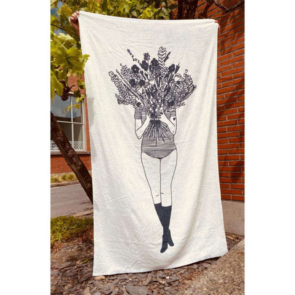 HelenB Strandlaken | flower girl
