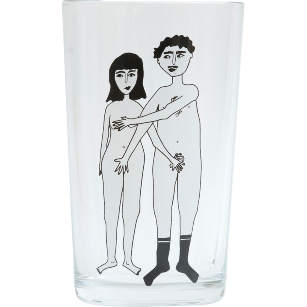HelenB Glas |  Naked couple & Naked couple back
