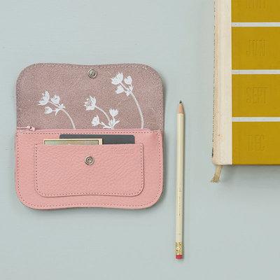 Keecie Lichtroze leren portemonnee, Flash Forward, Soft Pink