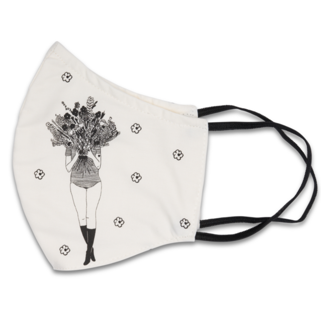 HelenB Mondmasker | flower girl
