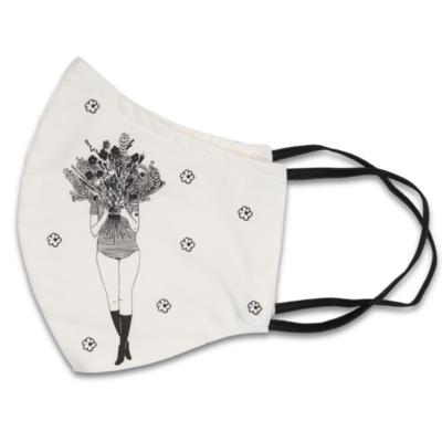 HelenB Mondmasker   flower girl