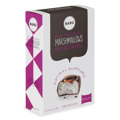 Baru Marshmallows Milk Chocolate with Sea Salt Caramel