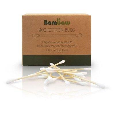 Bambaw Bamboe Wattenstaafjes