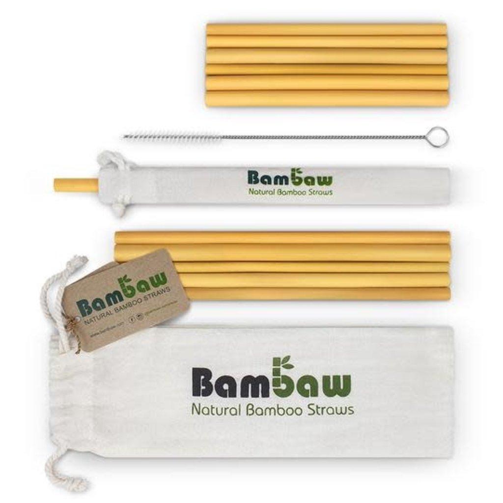 Bambaw Bamboe Rietjes 22cm (12st)