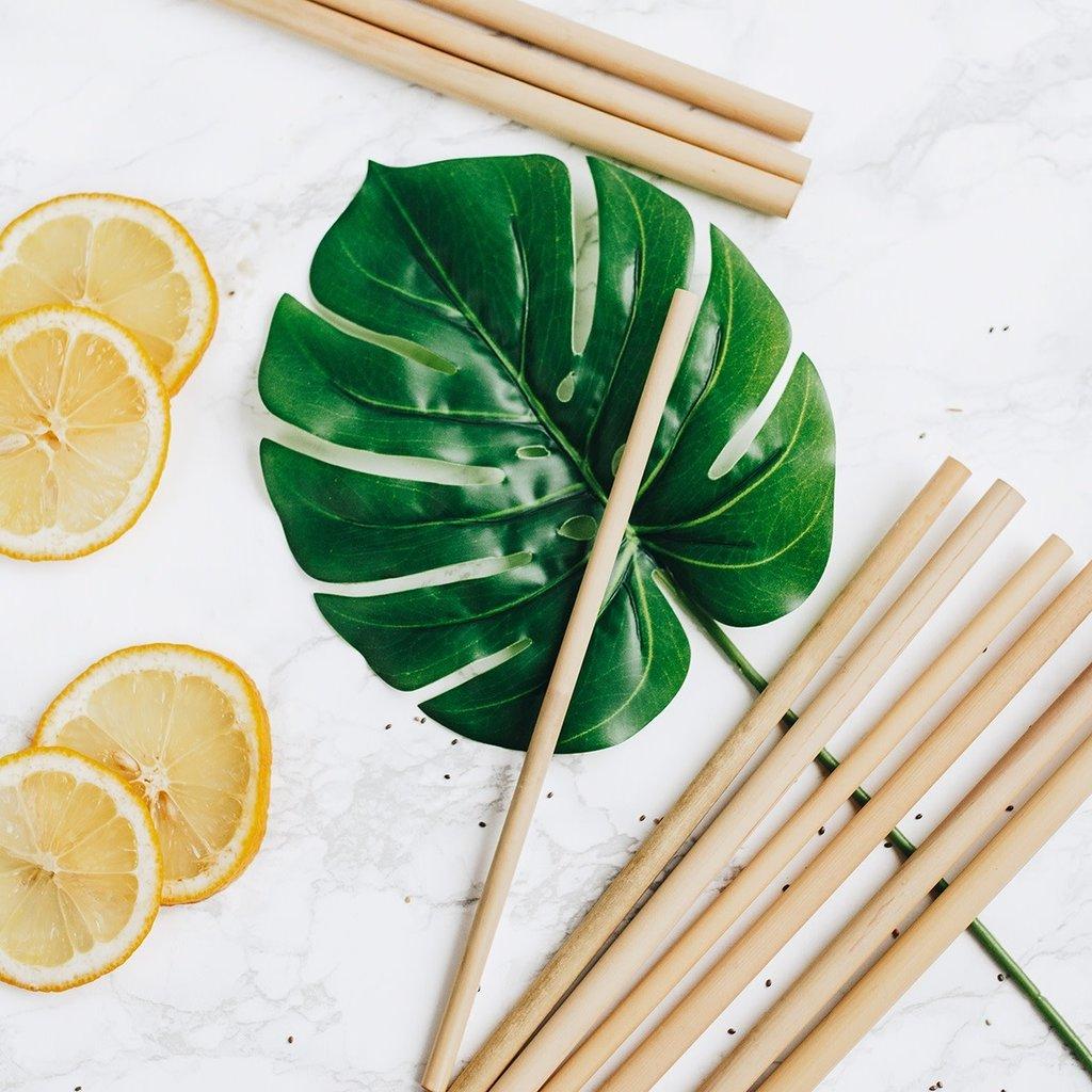 Bambaw Bamboe rietjes mix 14 & 22 cm (12st)