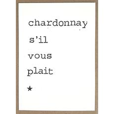 Postkaarten By Mar Chardonnay s'il vous plait