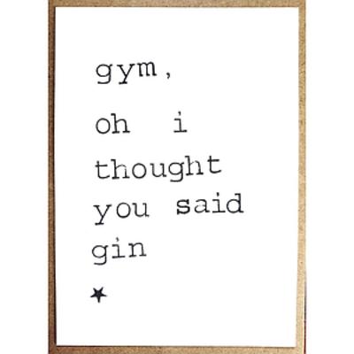 Postkaarten By Mar Gym, oh!