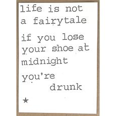 Postkaarten By Mar Life is not a fairytale