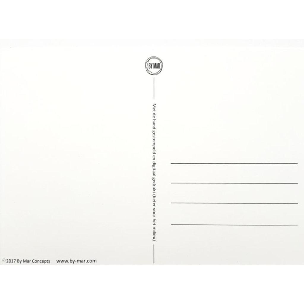Postkaarten By Mar Opvoeden is de kunst