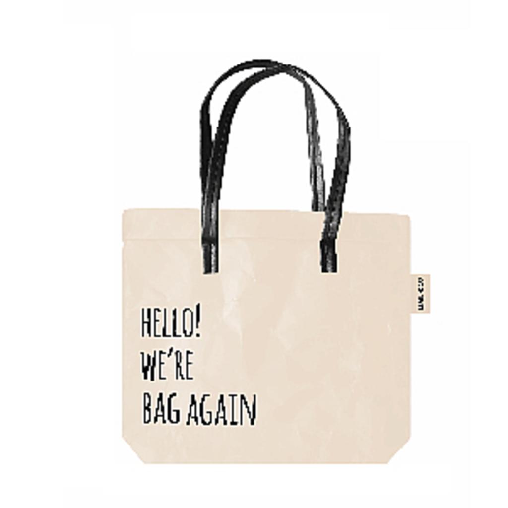 Hello! we're bag again