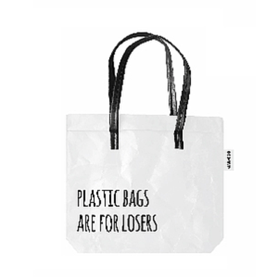 Plastic bags are for losers