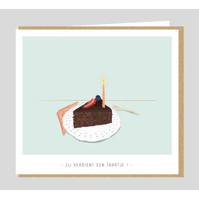 Studio Mie Jij verdient een taartje