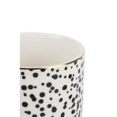 Zusss Koffiemok spikkels/goud