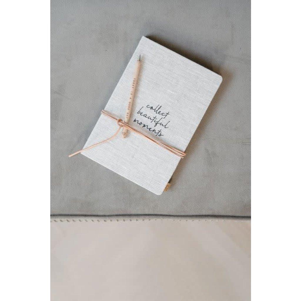 Zusss Notitieboek collect moments linnen