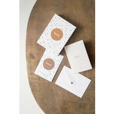 Zusss Box met 12 wenskaarten wit