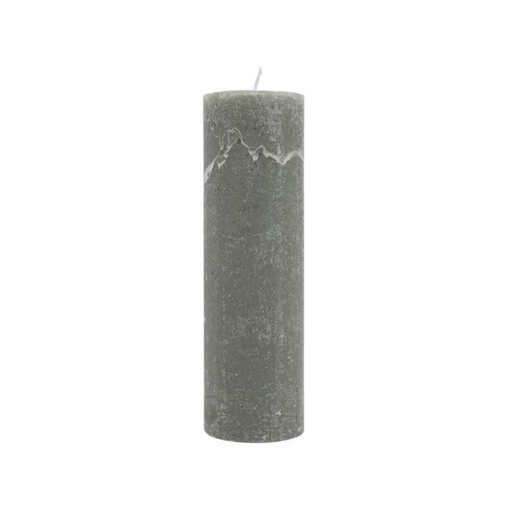 Zusss Stompkaars ø4,5cm groen