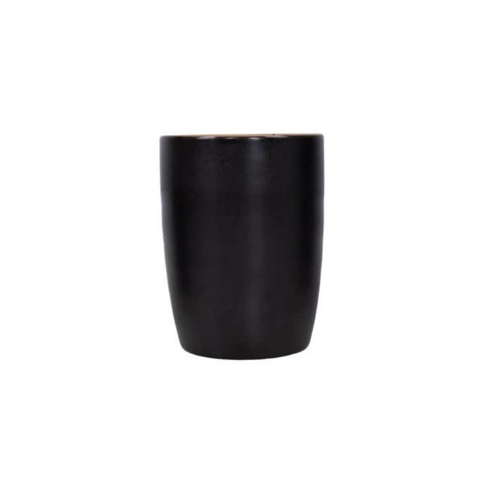 Zusss Koffiemok aardewerk zwart