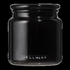 Wellmark Grote geurkaars - frisse linnen zwart -  'light my fire'