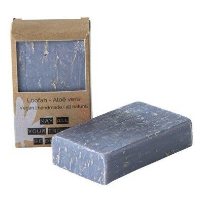 Wellmark Vegan soap bar - loofah aloe vera