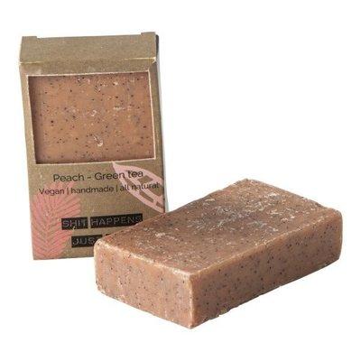 Wellmark Vegan soap bar - peach green tea
