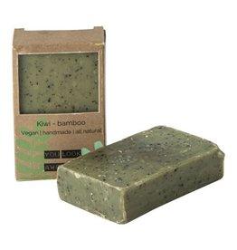 Wellmark Vegan soap bar - kiwi bamboe