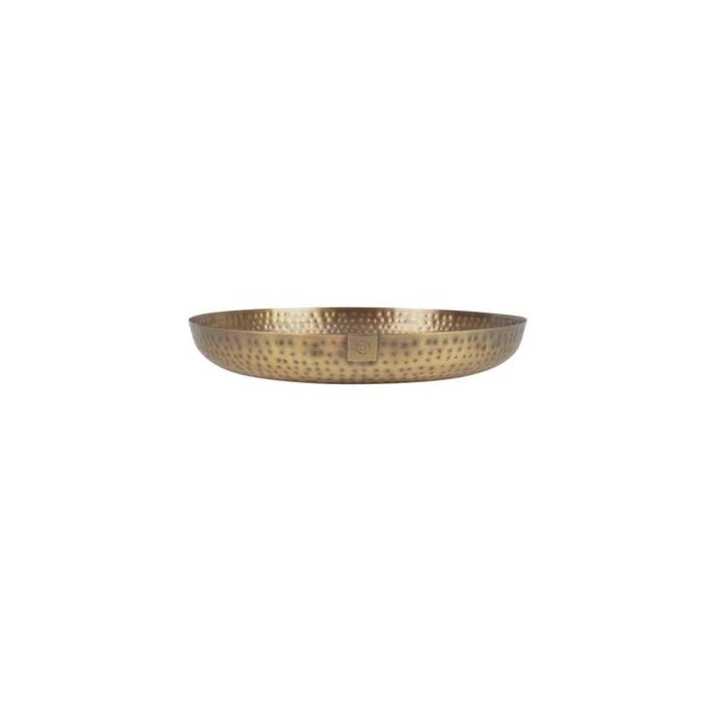 Zusss Stylingbord metaal 30cm brons