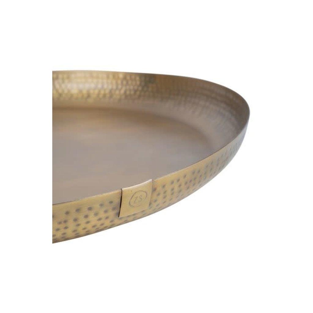Zusss Stylingbord metaal 50cm brons