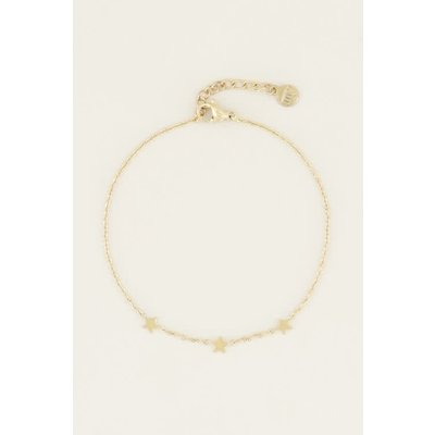 My Jewellery Graduation armband drie sterretjes goud