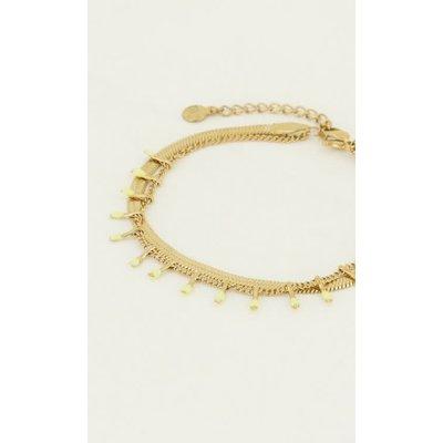 My Jewellery Armband dubbel geel