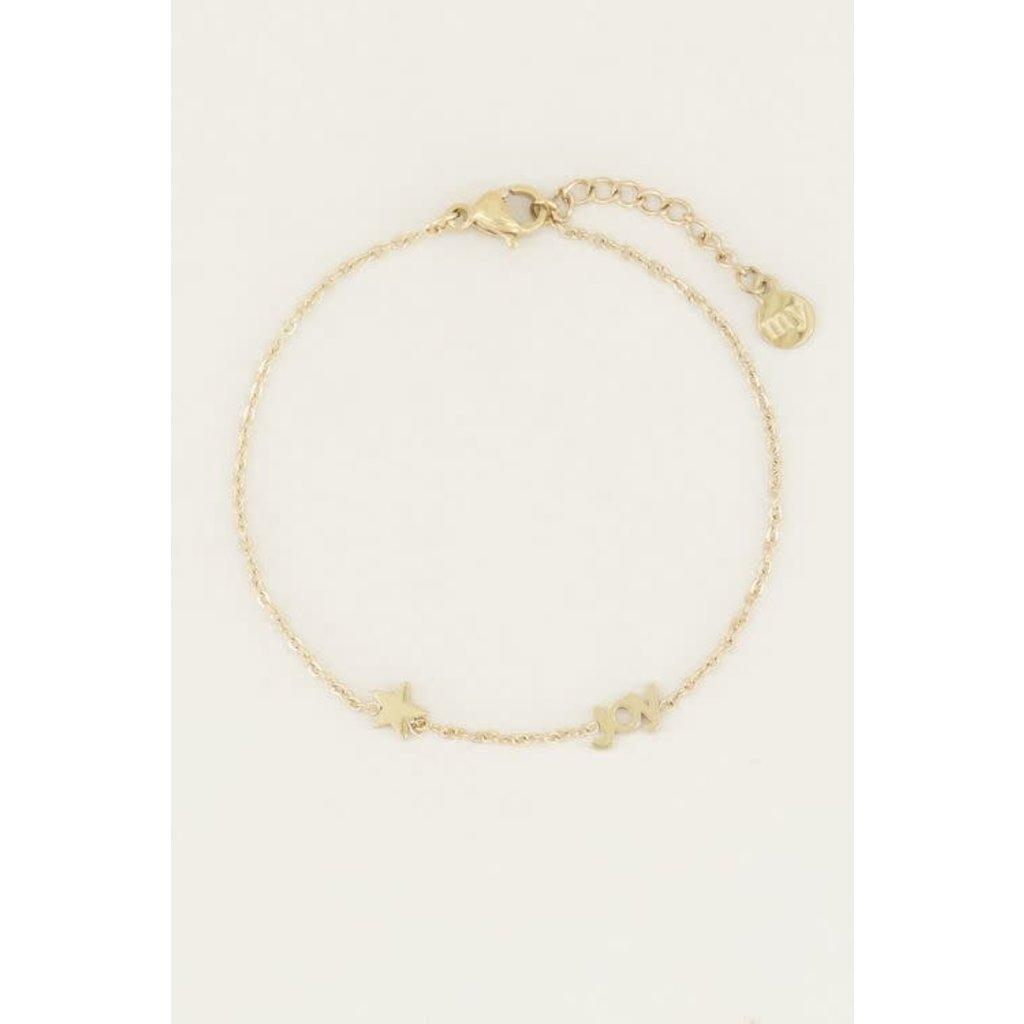 My Jewellery Joy armband met ster goud