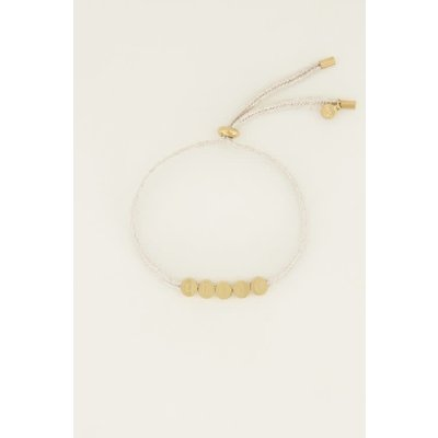 My Jewellery Touw armband dream goud