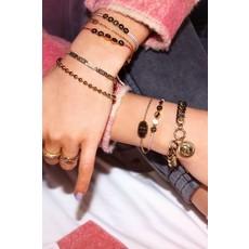 My Jewellery Touw armband love goud