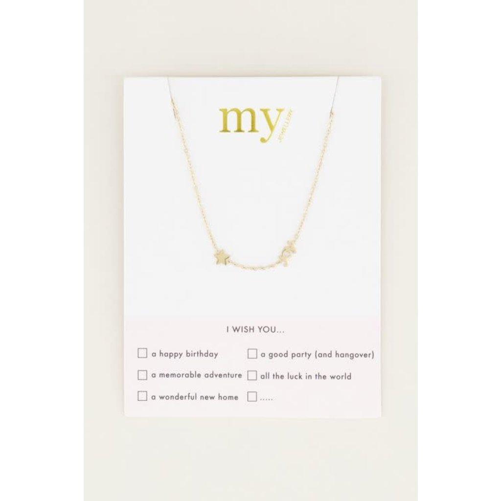 My Jewellery Joy ketting met ster goud