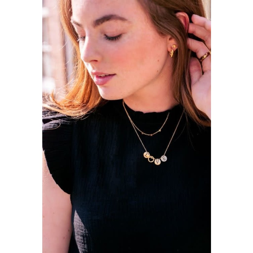 My Jewellery Ketting 3 sterren goud