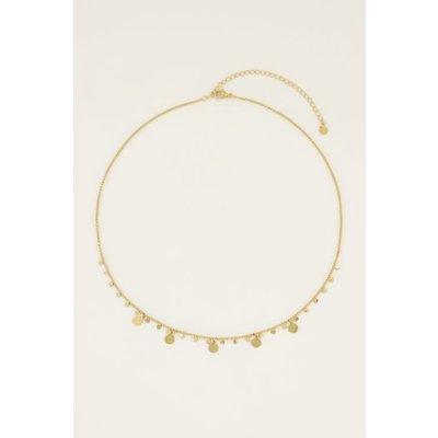 My Jewellery Ketting ronde bedels goud