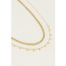 My Jewellery Kettingen set muntjes goud