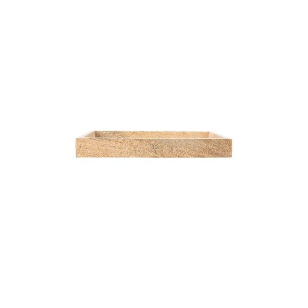 Zusss Houten dienblad 19,5x2,5x11cm