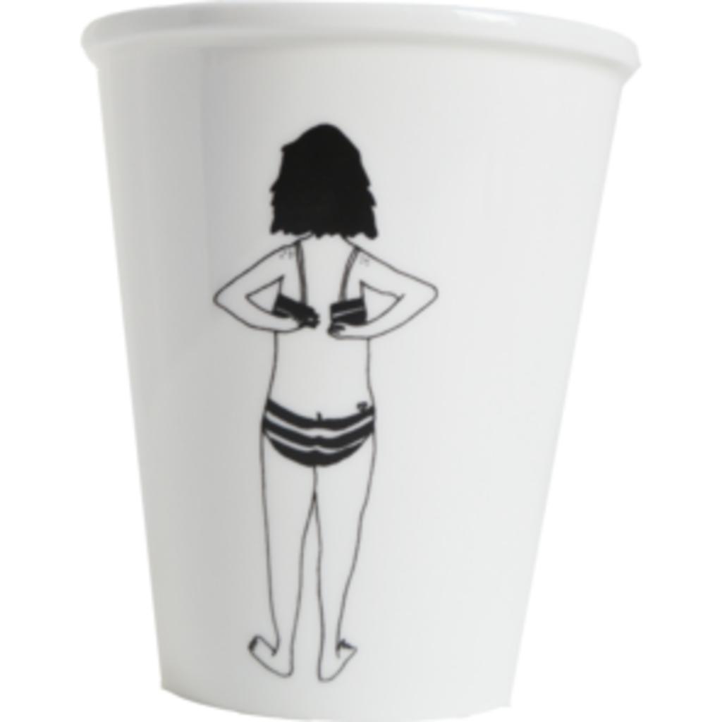 HelenB Beker | bikini girl