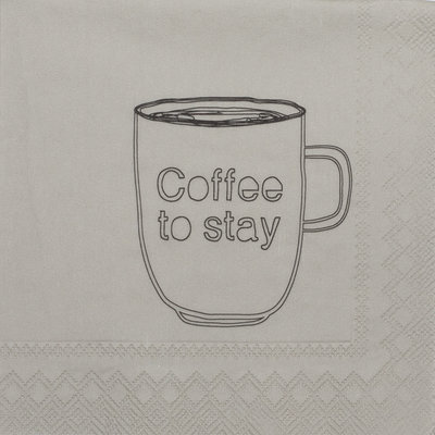 Rader Servetten coffee to stay