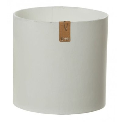 Oohh Toyo Cylinder Pot, Wit
