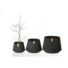 Oohh Tokyo Flower Pot, Zwart