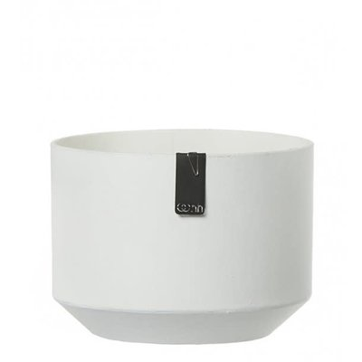 Oohh Alba paper pot with polished finish, wit