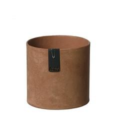 Oohh Tokyo cylinder Pot, Rustiek bruin